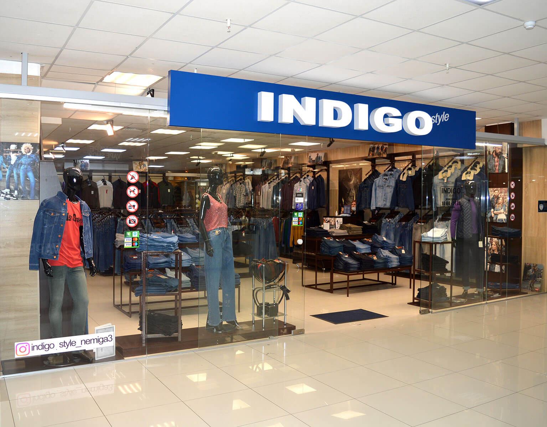 «INDIGO» -  магазин мужской одежды и аксессуаров в Торговом Центре НЕМИГА 3, г. Минск