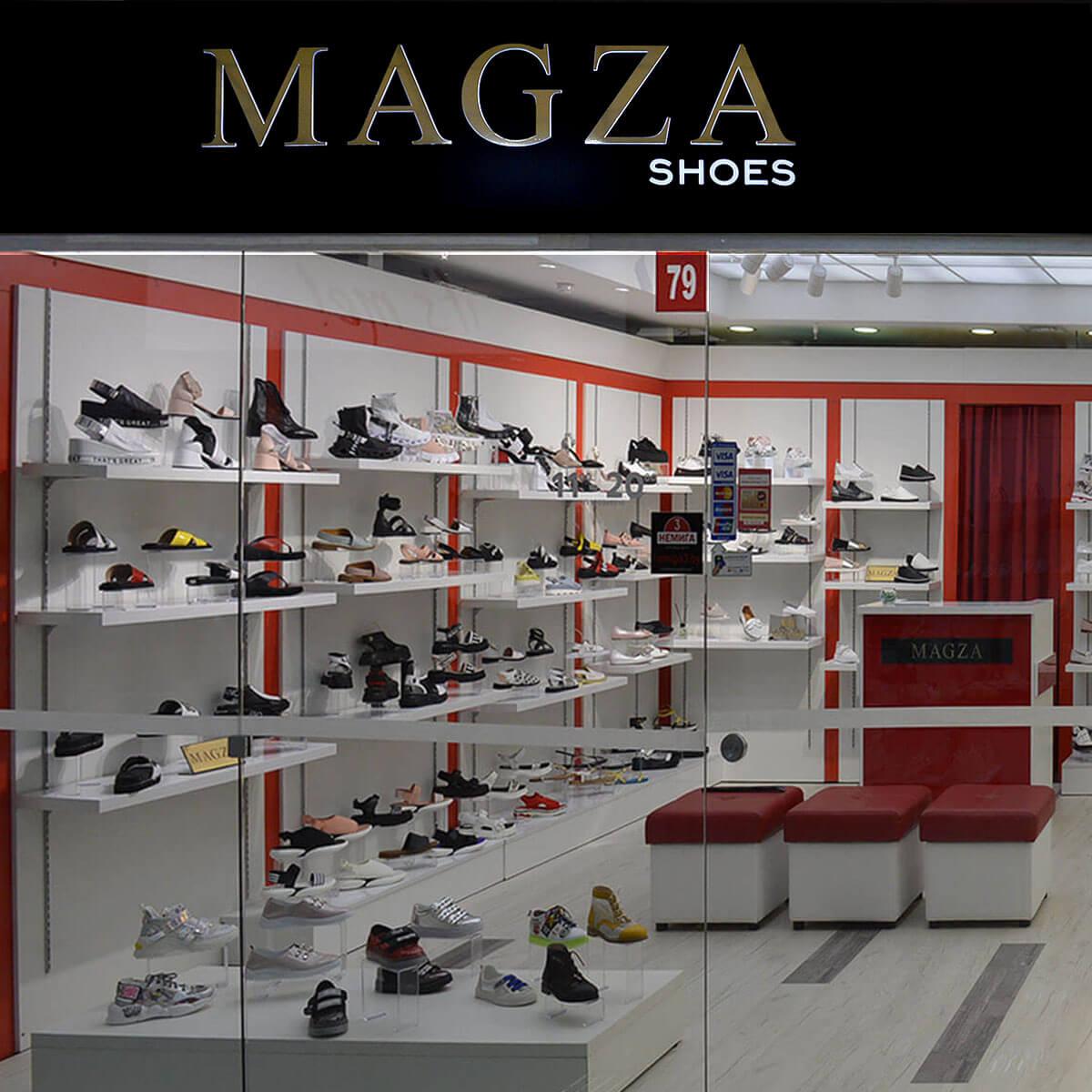 Магазин «MAGZA shoes» приглашает в новый большой павильон на 1-м этаже Торгового центра «Немига 3»
