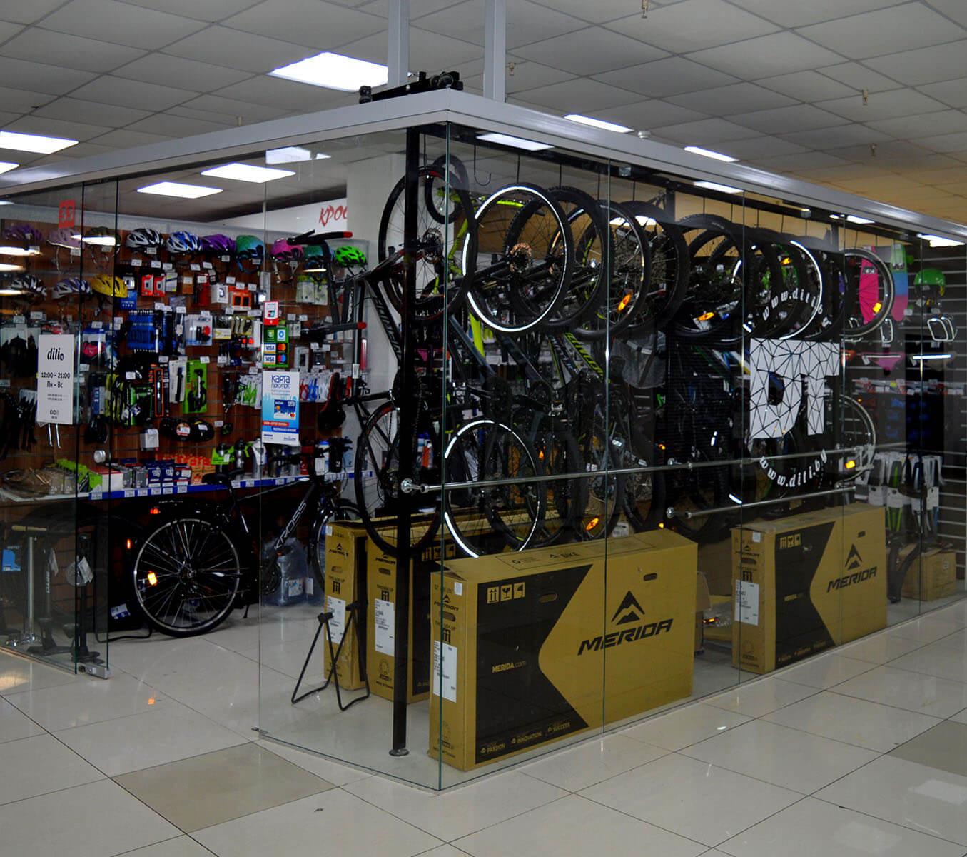DiTi - магазин спортивных товаров в Торговом Центре Немига 3
