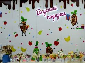 Изделия ручной работы из итальянского шоколада в магазине CandyApples в Торговом Центре «Немига 3»
