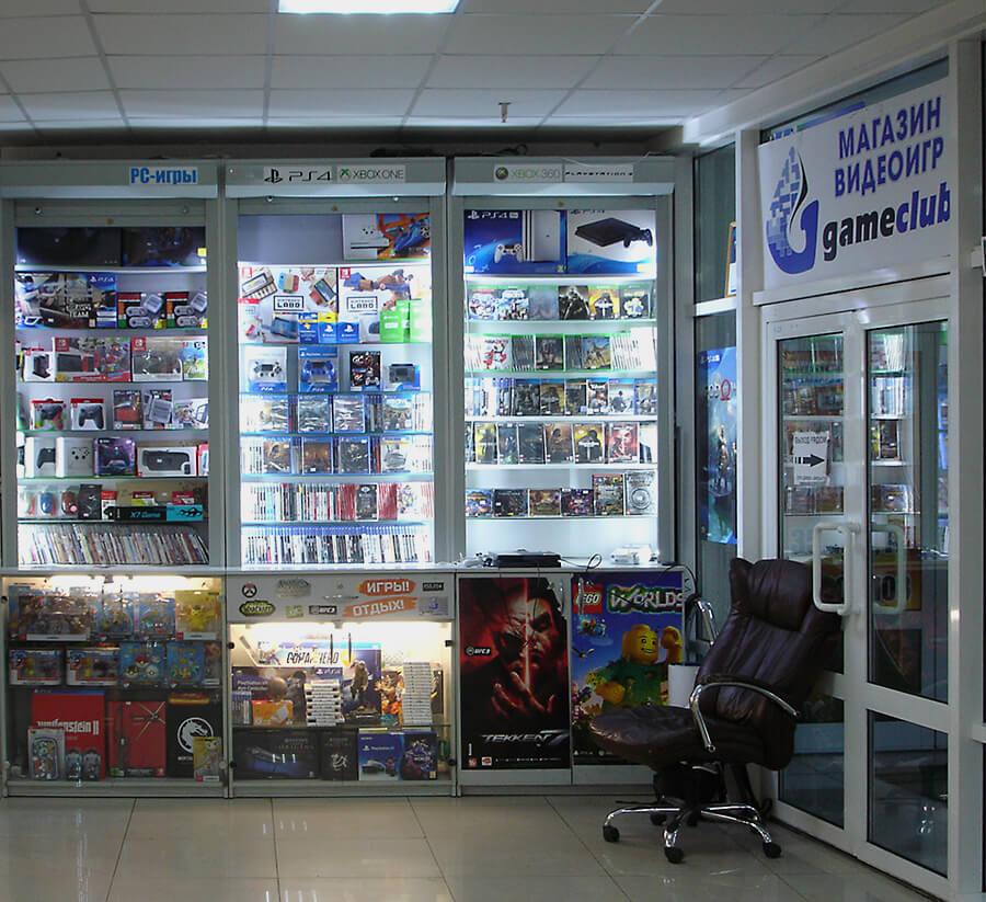 GameClub - игровые приставки, игры и аксессуары в Торговом Центре Немига 3